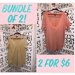 Bundle of 2 shirts from Express